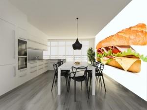 Fotomural Decorativo Cocina y Comedor: Baguette