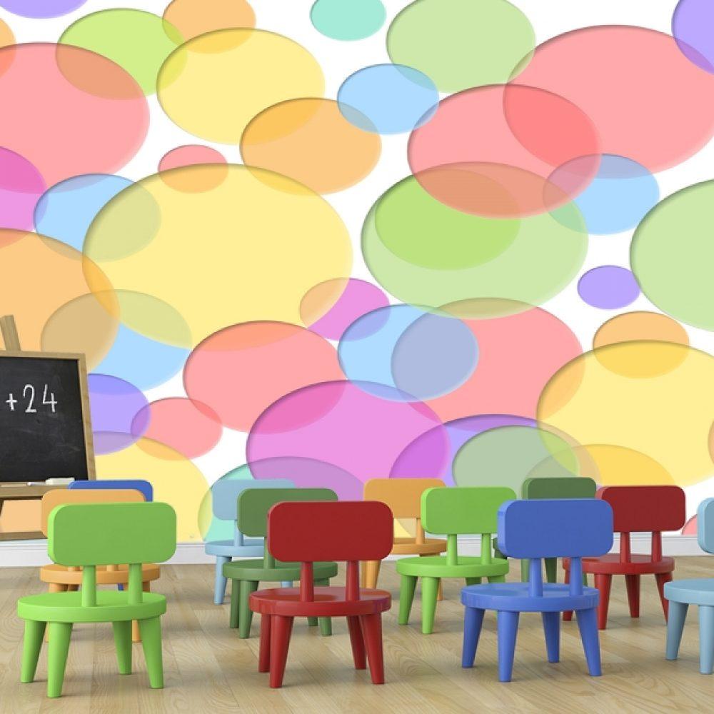 burbujas de colores