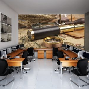 Fotomural Decorativo Oficina: Catalejo