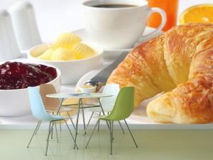 Fotomural Decorativo Cocina y Comedor: Desayuno Ligero