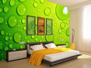 Fotomural Decorativo Dormitorio : Gotas de Agua
