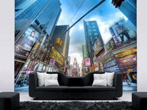 Fotomural Decorativo para Sala: Grandes Ciudades