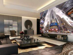 Fotomural Decorativo para Sala: Grandes Edificios