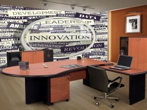 Fotomural Decorativo Oficina: Innovación