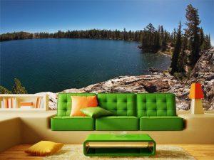 Fotomural Decorativo para Sala: El Lago