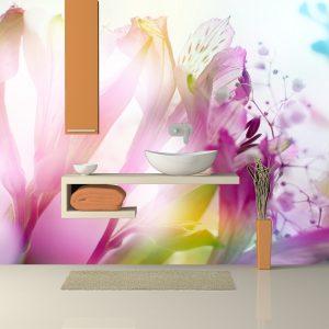 Fotomural Decorativo Baño: Lilis