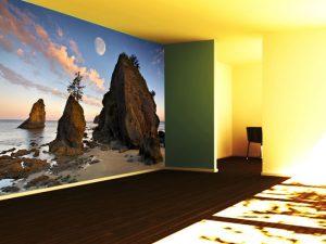 Fotomural Decorativo para Dormitorio: Lunada en Arrecife