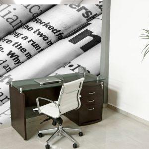 Fotomural Decorativo Oficina: Periódico