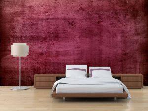 Fotomural Decorativo para Dormitorio: Pintura Desgastada