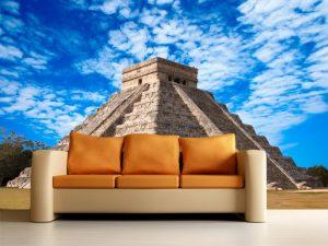 Fotomural Decorativo para Sala: Pirámide