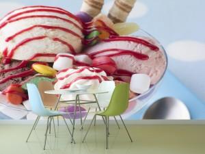 Fotomural Decorativo Cocina y Comedor: Postre Helado