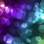 Luces azules