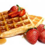waffles fresa