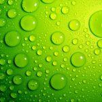 gotas verdes