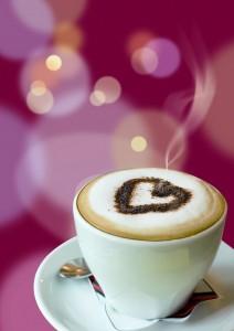 Fotomural Decorativo Cocina y Comedor: Love Coffee
