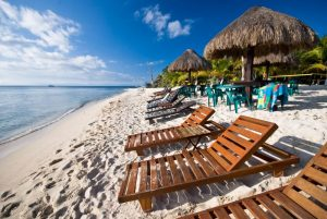 Fotomural Decorativo para  Sala: Playa