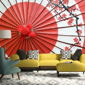Fotomural Decorativo Sala : Sombrilla Oriental