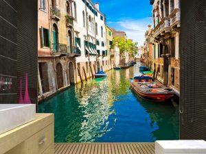 Fotomural Decorativo para Baño: Venecia