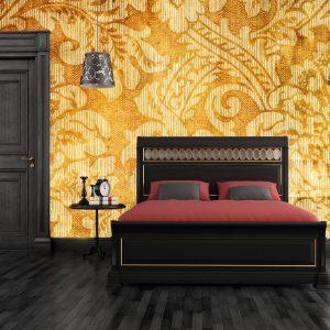 Fotomural Decorativo para Dormitorio:  Vintage Amarillo