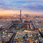 0189-Aerial-view-of-Paris-at-sunset