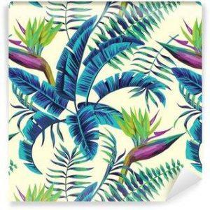 Fotomurales Mexico papeles pintados lavables fondo transparente de la pintura exotica tropical 300x300 - Papel Tapiz