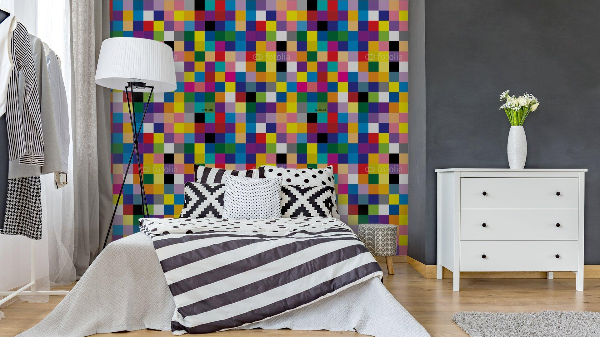 Fotomurales mexico papeles pintados abstracto cuadrado 3 - PapelTapizAbstracto Cuadros de Colores 01