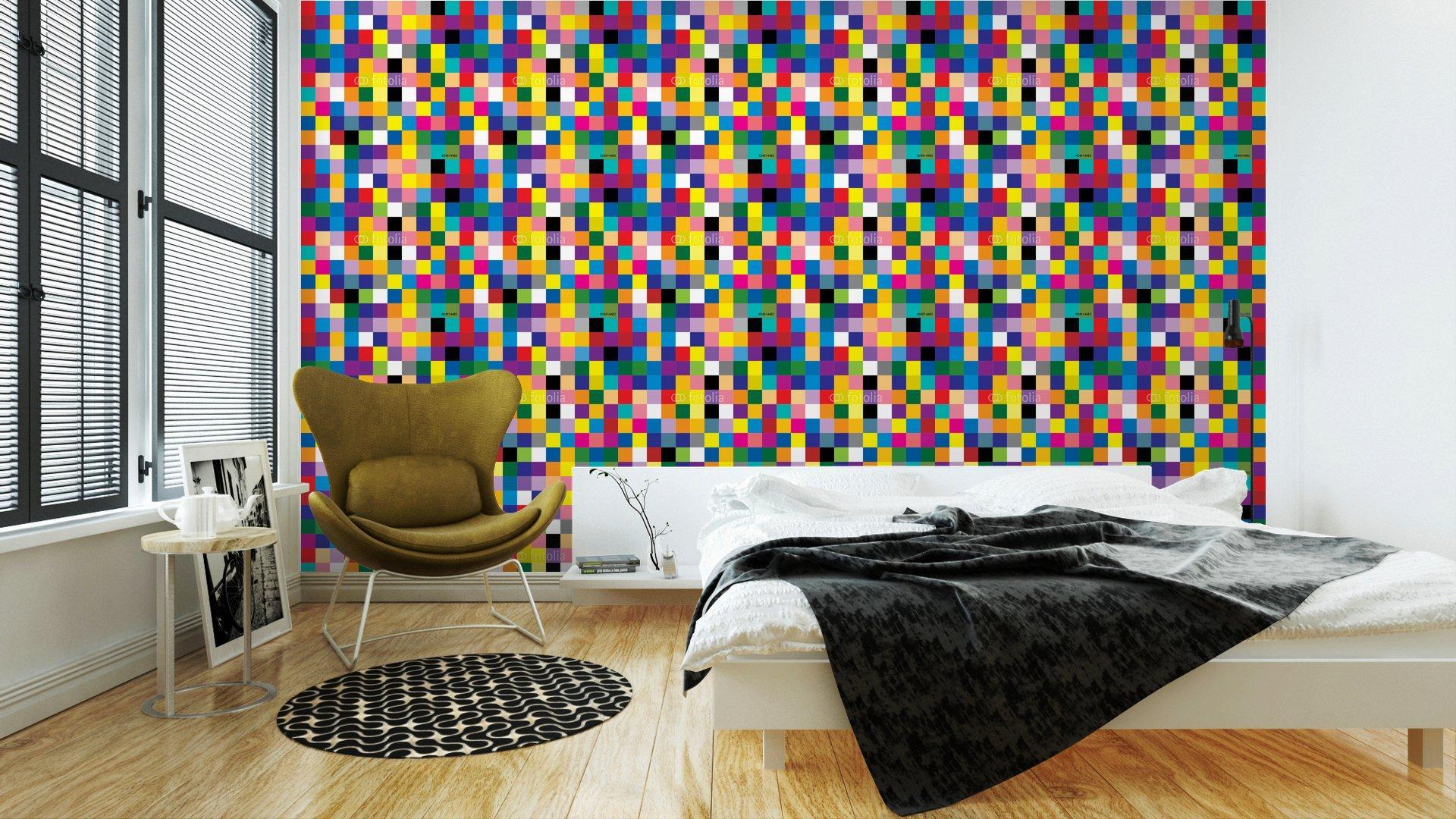 Fotomurales mexico papeles pintados abstracto cuadrado 4 - PapelTapizAbstracto Cuadros de Colores 01