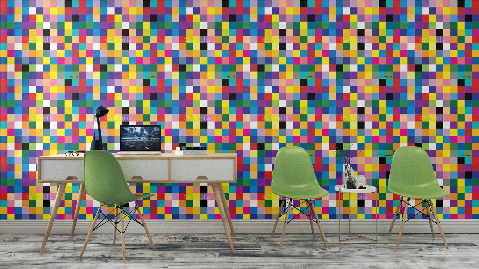 Fotomurales mexico papeles pintados abstracto cuadrado 7 - PapelTapizAbstracto Cuadros de Colores 01