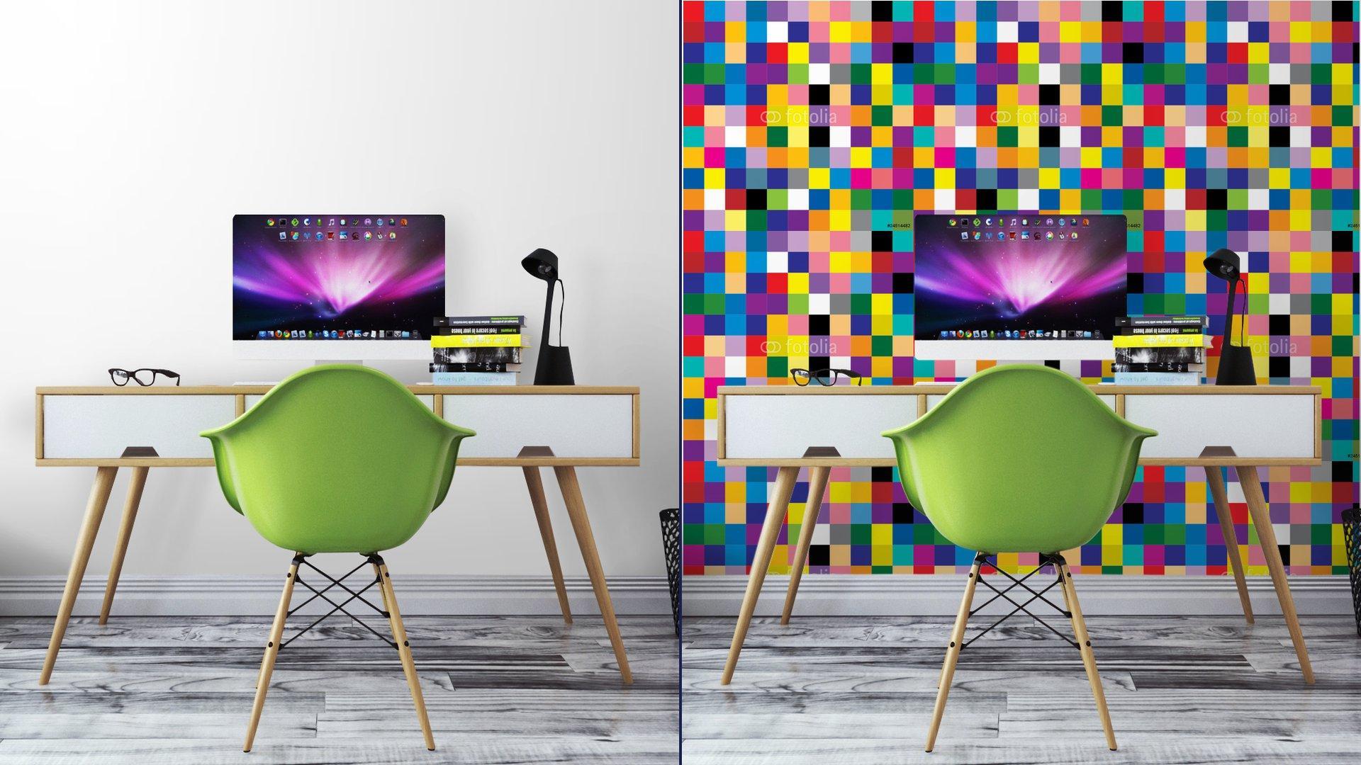 Fotomurales mexico papeles pintados abstracto cuadrado 8 - PapelTapizAbstracto Cuadros de Colores 01