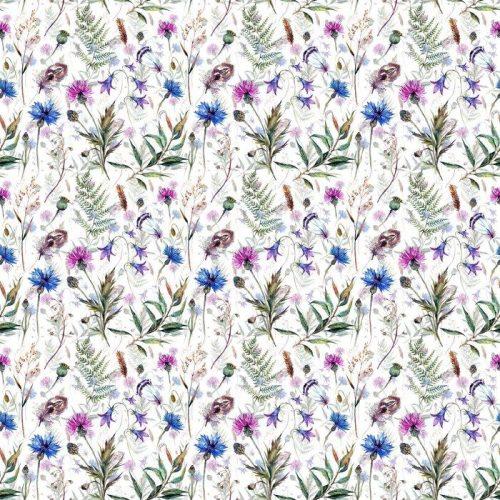 Fotomurales mexico papeles pintados autoadhesivos dibujados a mano flores silvestres acuarela 1 500x500 - PapelTapiz Flores Silvestres Estilo Acuarela