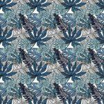 Fotomurales-mexico-papeles-pintados-autoadhesivos-flores-exoticas-tropicales-y-plantas-con-hojas-verdes-de-palma 1