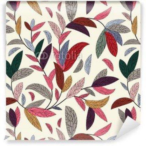 Fotomurales mexico papeles pintados autoadhesivos fondo floral sin fisuras 500x500 - Fotomurales Papel Tapiz Tropical y Naturaleza
