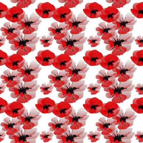 Fotomurales mexico papeles pintados autoadhesivos patron floral sin fisuras con amapola 1 500x500 - Papel Tapiz Floral Amapola Roja en Fondo Blanco
