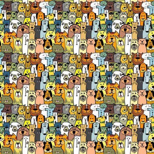 Fotomurales mexico papeles pintados autoadhesivos perros y gatos 1 500x500 - Papel Tapiz Perros y Gatos 01
