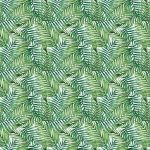 Fotomurales-mexico-papeles-pintados-autoadhesivos-watercolor-tropical-palm-leaves-seamless-pattern-vector-illustration 1