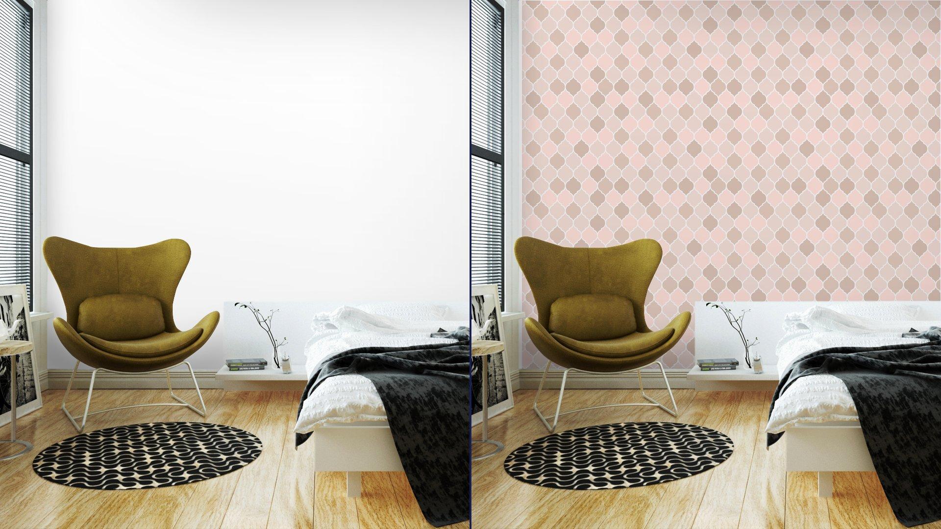 Fotomurales mexico papeles pintados baldosas sin fisuras patron de color rosa vector 2 - PapelTapizGeométrico Tonos Rosa 01