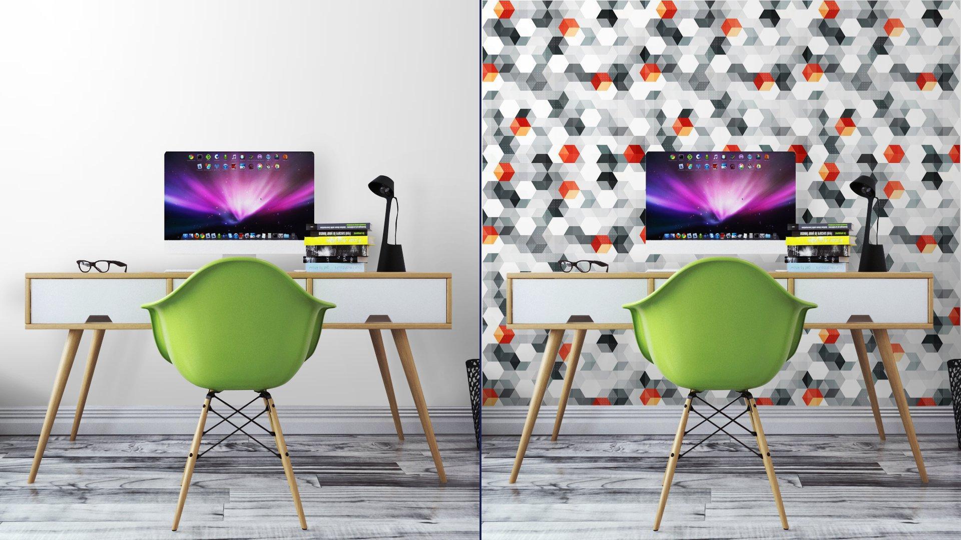 Fotomurales mexico papeles pintados cubos abstractos sin fisuras patron con efecto grunge 7 - Papel Tapiz Cubos Abstractos Con Efecto Grunge 01
