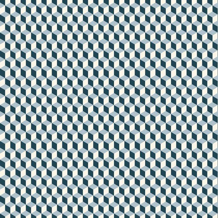 Fotomurales mexico papeles pintados cubos vendimia del fondo 3d patron vector patron de retro 1 - Papel Tapiz Patrón de Cubos 3D 01