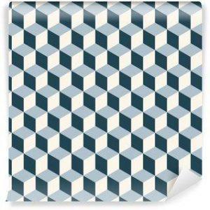 Fotomurales mexico papeles pintados cubos vendimia del fondo 3d patron vector patron de retro 300x300 - Papel Tapiz