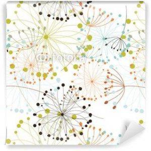 Fotomurales mexico papeles pintados fondo floral sin fisuras 300x300 - Papel Tapiz
