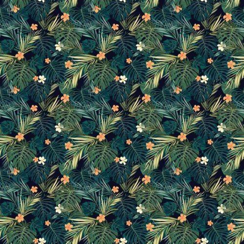 Fotomurales mexico papeles pintados fondo transparente de colores tropicales brillantes con hojas y 1 500x500 - Decoración de Oficinas y Empresas