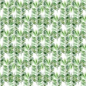 Fotomurales mexico papeles pintados lavables acuarela hoja de palmera sin fisuras 1 300x300 - Papel Tapiz