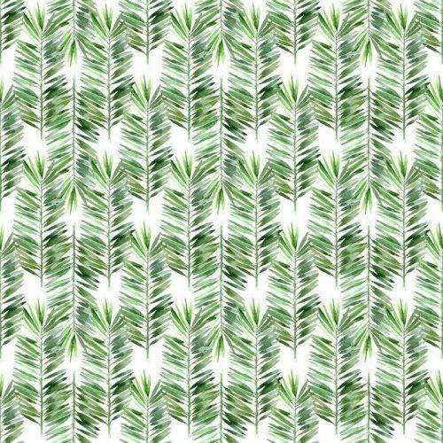 Fotomurales mexico papeles pintados lavables acuarela hoja de palmera sin fisuras 1 500x500 - Decoración de Oficinas y Empresas