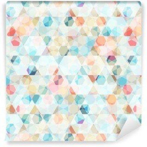 Fotomurales mexico papeles pintados lavables diamante de celulas patron transparente 500x500 - PapelTapizDiamante con Patrón De Células 01