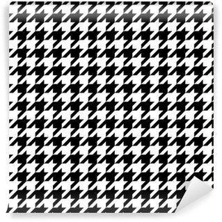 Fotomurales mexico papeles pintados lavables houndstooth patron - PapelTapiz Patrón Houndstooth (Pata de Gallo) 01