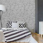 Fotomurales-mexico-papeles-pintados-lavables-modelo-geometrico-blanco-y-negro-simple-minimalista-triangulos-o-vidriera-se-puede-utilizar-como-fondo-de-pantalla-fondo-o-la-textura 2