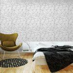 Fotomurales-mexico-papeles-pintados-lavables-modelo-geometrico-blanco-y-negro-simple-minimalista-triangulos-o-vidriera-se-puede-utilizar-como-fondo-de-pantalla-fondo-o-la-textura 4