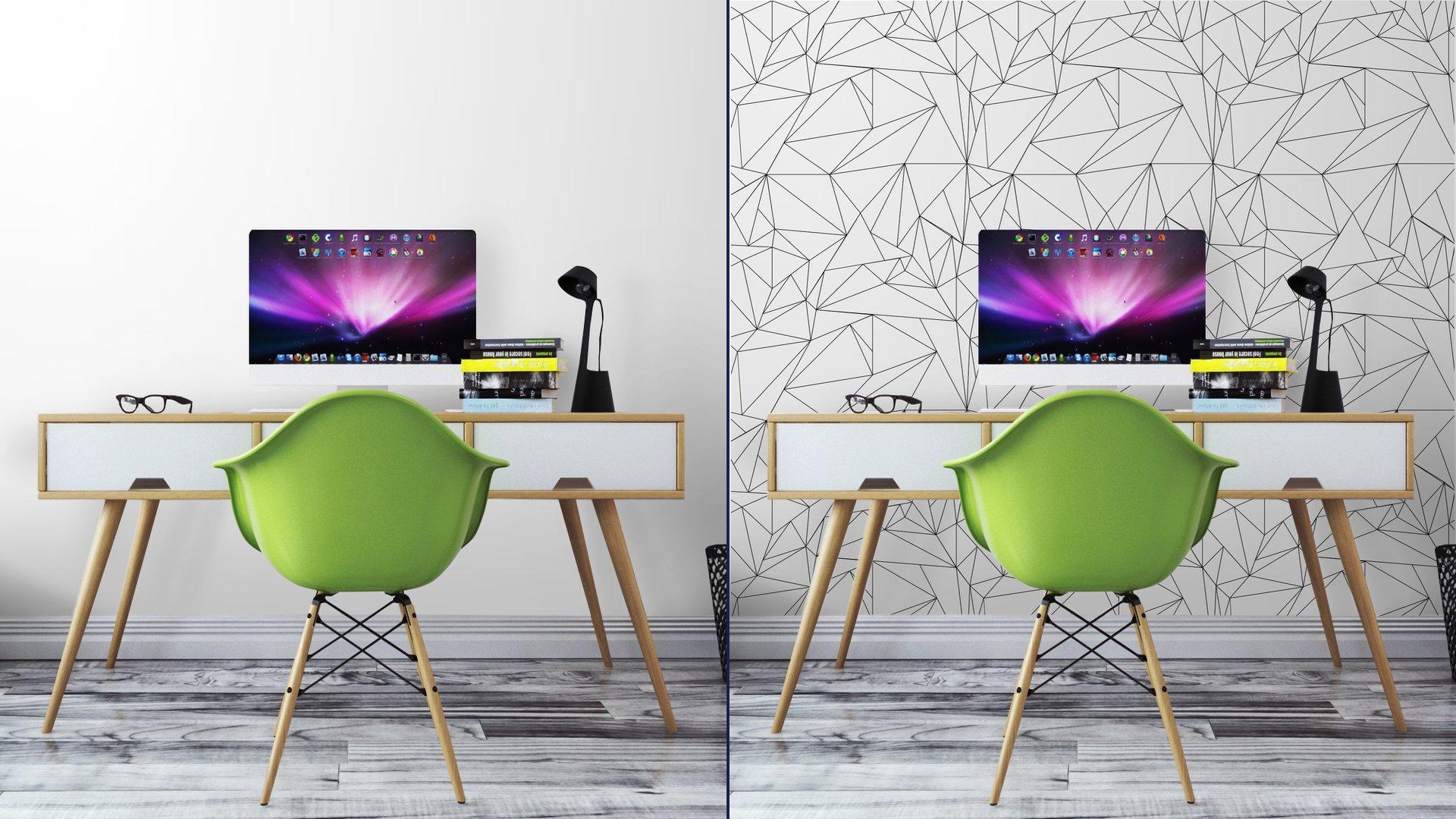 Fotomurales mexico papeles pintados lavables modelo geometrico blanco y negro simple minimalista triangulos o vidriera se puede utilizar como fondo de pantalla fondo o la textura 7 - Papel Tapiz Geométrico Minimalista Blanco Y Negro 01