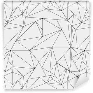 Fotomurales mexico papeles pintados lavables modelo geometrico blanco y negro simple minimalista triangulos o vidriera se puede utilizar como fondo de pantalla fondo o la textura - Papel Tapiz Geométrico Minimalista Blanco Y Negro 01