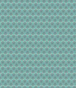 Papel Tapiz Patrón Bosque Abstracto en Fondo Azul 01
